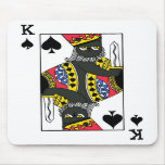 O&T King of Spades MOUSE PAD