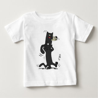O&T-Shirt with Onyx on Topaz's head Baby T-Shirt