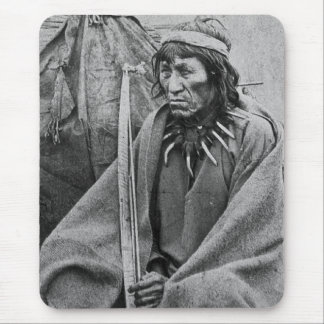 O-Ta-Dan , A Sioux Indian Vintage Stereoview Mouse Pad