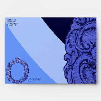 O - The Falck Alphabet (Blue) Envelope