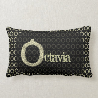 O - The Falck Alphabet (Golden) Lumbar Pillow