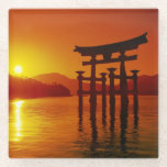 O-Torii Gate, Itsukushima shrine, Miyajima Glass Coaster