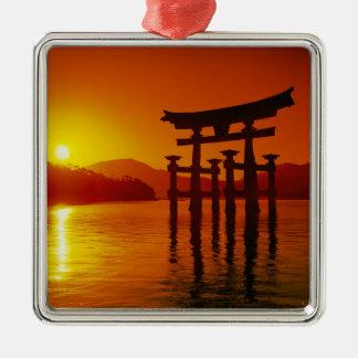 O-Torii Gate, Itsukushima shrine, Miyajima, Metal Ornament