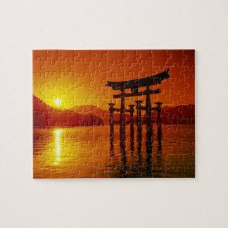 O-Torii Gate Itsukushima shrine Miyajima Puzzle