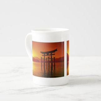 O-Torii Gate, Itsukushima shrine, Miyajima, Porcelain Mug
