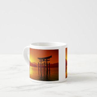 O-Torii Gate, Itsukushima shrine, Miyajima, Espresso Cups