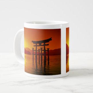 O-Torii Gate, Itsukushima shrine, Miyajima, Jumbo Mugs