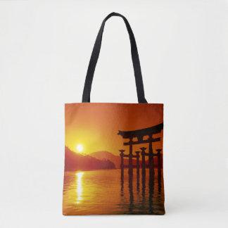 O-Torii Gate, Itsukushima shrine, Miyajima Tote Bag