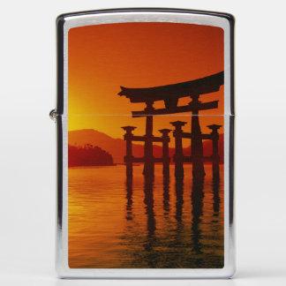 O-Torii Gate, Itsukushima shrine, Miyajima, Zippo Lighter