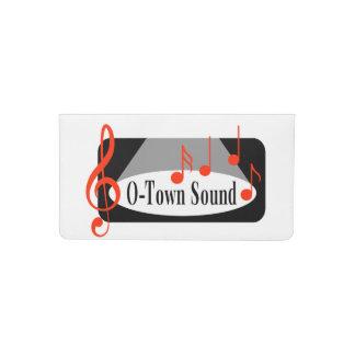 O-Town Sound Checkbook Cover