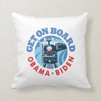 O-Train - Throw Pillow 16' x 16'