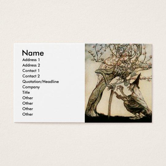 O Tree of Mine Business Card