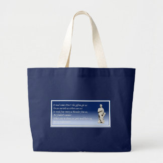 O Wad Some Pow'r The Giftie Gie Us Large Tote Bag