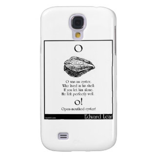 O was an oyster galaxy s4 cover