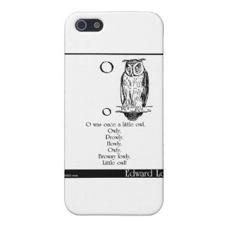 O was once a little owl iPhone SE/5/5s case
