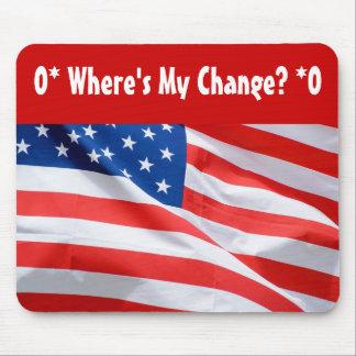 O* Where's My Change? O* Mouse Pad