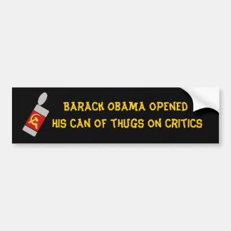oabamscanofthugs, ope de Barack Obama… - Modificad Etiqueta De Parachoque