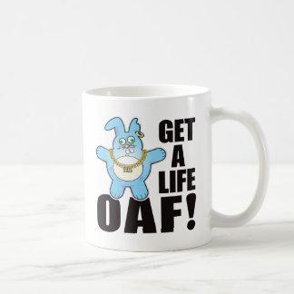 Oaf Bad Bun Life Classic White Coffee Mug