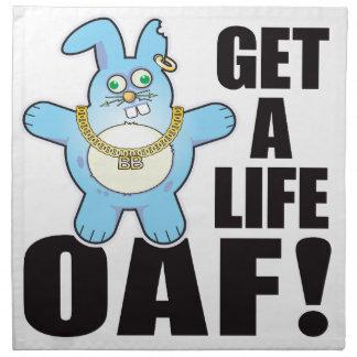 Oaf Bad Bun Life Cloth Napkin