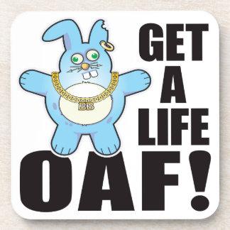 Oaf Bad Bun Life Drink Coaster