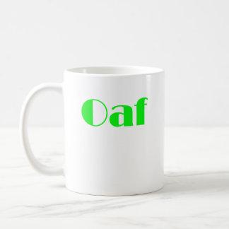 OAF CLASSIC WHITE COFFEE MUG