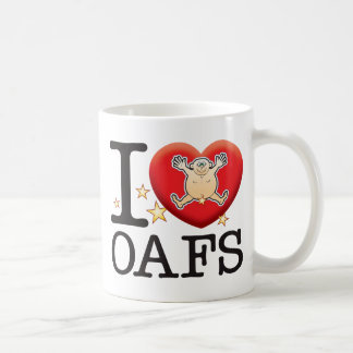 Oafs Love Man Classic White Coffee Mug