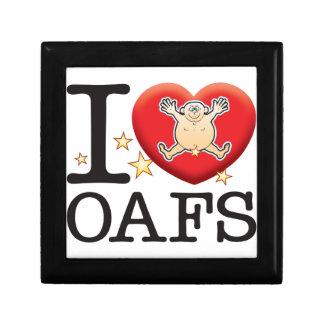 Oafs Love Man Jewelry Boxes