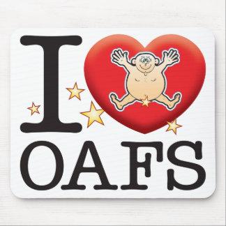 Oafs Love Man Mouse Pad