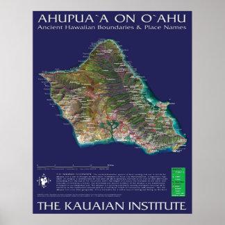Oahu Ahupuaa Poster