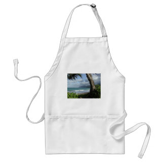 Oahu Beach Adult Apron