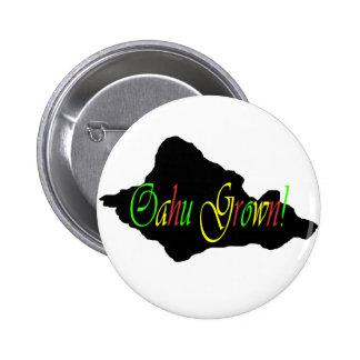 Oahu Grown button