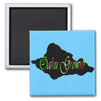 Oahu Grown magnet
