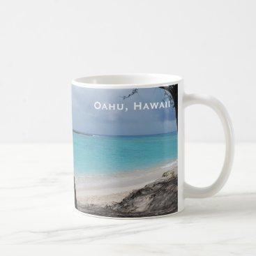Beach Themed Oahu Hawaii Beach Classic Mug