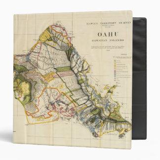 """Oahu, Hawaii Carpeta 1 1/2"""""""