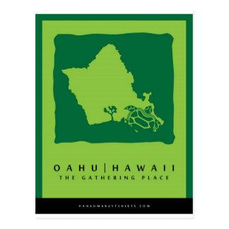 Oahu Hawaii Hanauma Bay Post Card