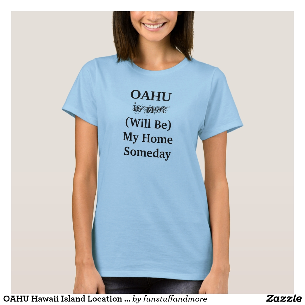 OAHU Hawaii Island Location Travel T-Shirt - Best Selling Long-Sleeve Street Fashion Shirt Designs