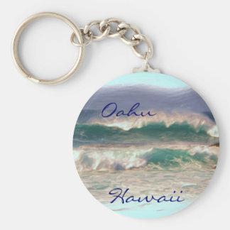 Oahu Hawaii keychain