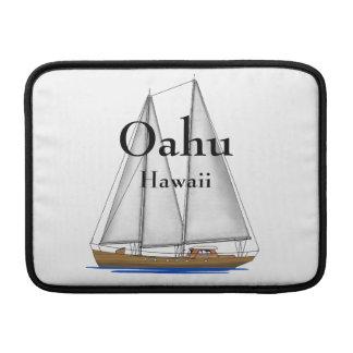 Oahu Hawaii MacBook Sleeve