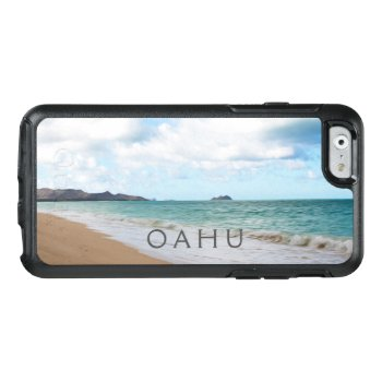 Oahu Hawaii Ocean Waves & Beach Otterbox Iphone 6/6s Case by HawaiiSands at Zazzle