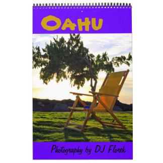 Oahu Hawaii wall Calendar