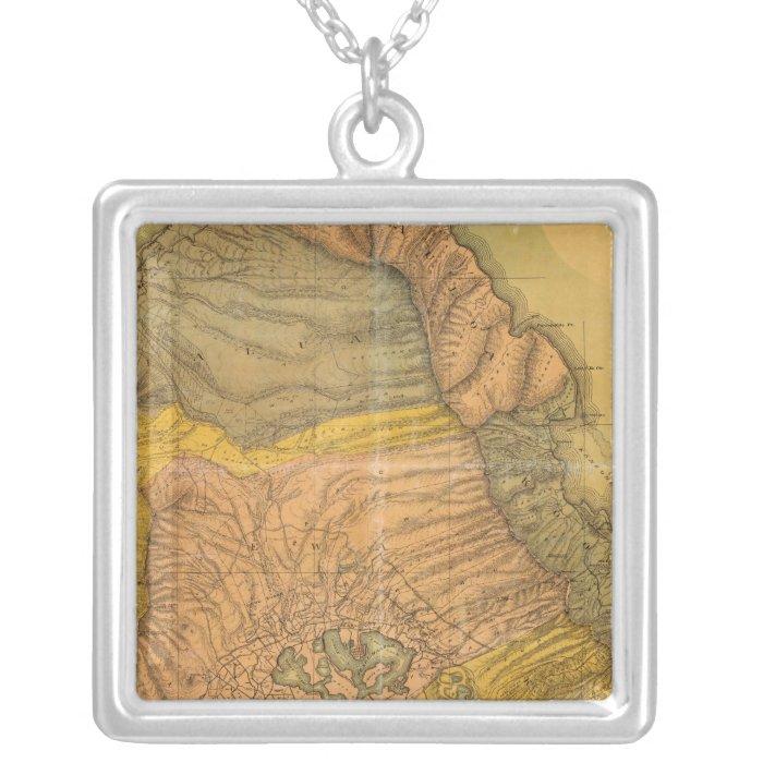 Oahu, Hawaiian Islands Silver Plated Necklace