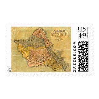 Oahu, Hawaiian Islands Stamp