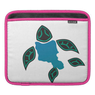Oahu Island Turtle and Islands iPad Sleeve