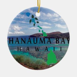 Oahu Island Turtle Ornament