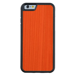 Oahu Orange Hibiscus Hawaiian Sunset Carved Cherry iPhone 6 Bumper Case