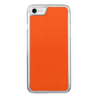 Oahu Orange Hibiscus Hawaiian Sunset Carved iPhone 8/7 Case