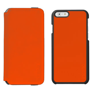 Oahu Orange Hibiscus Hawaiian Sunset iPhone 6/6s Wallet Case