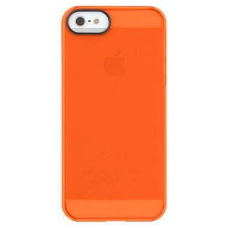 Oahu Orange Hibiscus Hawaiian Sunset Permafrost iPhone SE/5/5s Case