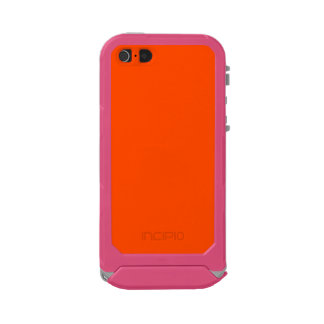 Oahu Orange Hibiscus Hawaiian Sunset Waterproof Case For iPhone SE/5/5s