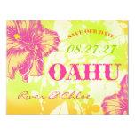 OAHU Save the Date 4.25x5.5 Paper Invitation Card